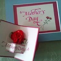 2013年5月9日開催 冨樫富美恵のFT-CC 母の日カード作成1dyaレッスン